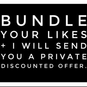 Other - I LOVE bundles and giving deals!
